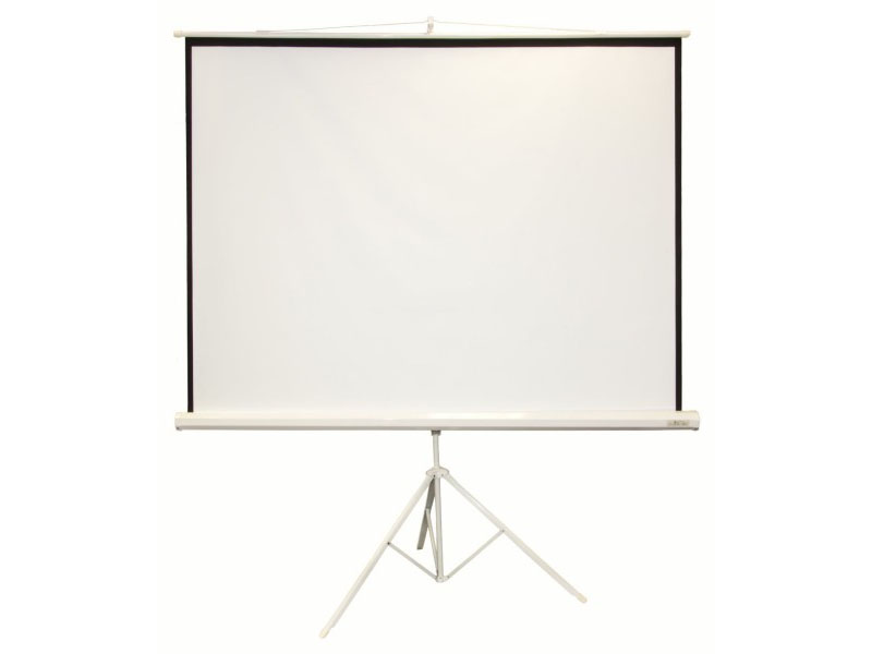 Ecran de projection sur trépied de 2x2 mètres